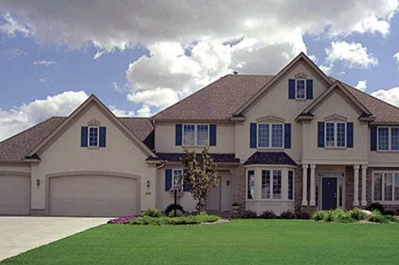 Traditional Exterior - Front Elevation Plan #51-772