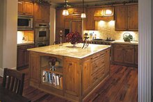 Architectural House Design - Craftsman Interior - Kitchen Plan #132-351