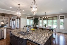 Dream House Plan - Country Interior - Kitchen Plan #929-969