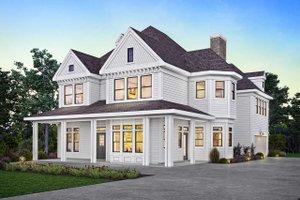House Plan Design - Victorian Exterior - Front Elevation Plan #410-3612