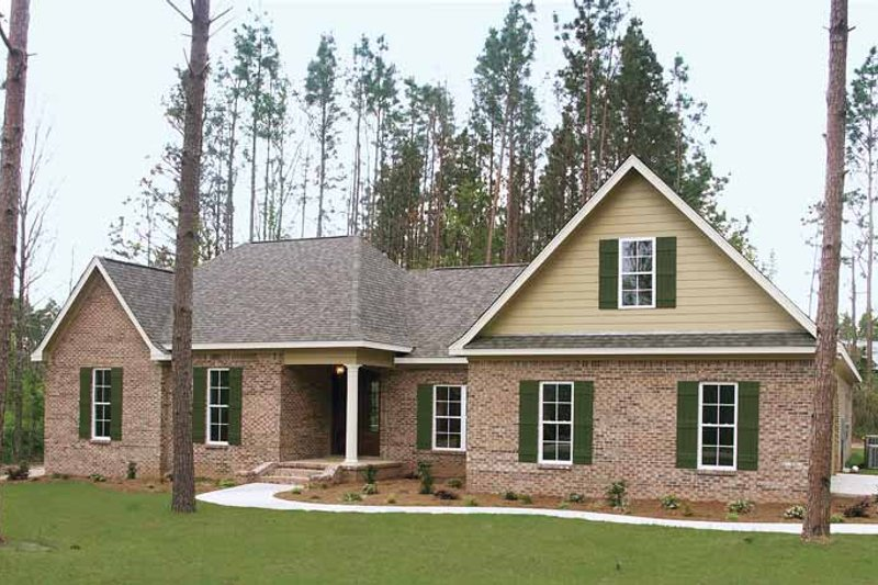 Home Plan - Country Exterior - Front Elevation Plan #21-413