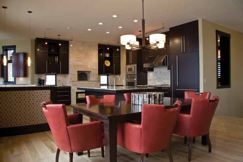 Contemporary Interior - Dining Room Plan #928-67 - Houseplans.com