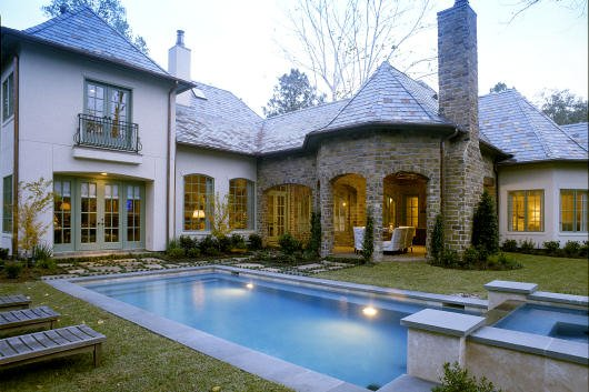 European Exterior - Outdoor Living Plan #20-2142 - Houseplans.com