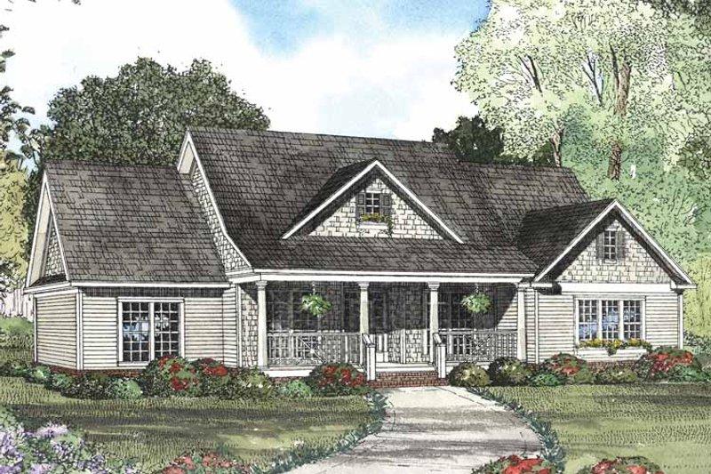 Colonial Exterior - Front Elevation Plan #17-2889 - Houseplans.com