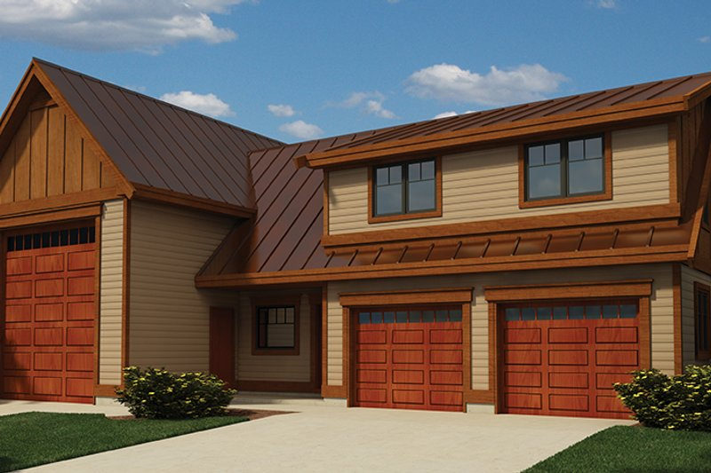 Traditional Exterior - Front Elevation Plan #118-168 - Houseplans.com
