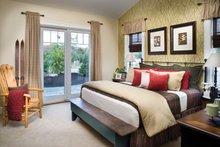 Ranch Interior - Master Bedroom Plan #942-21