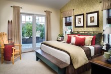 House Plan Design - Ranch Interior - Master Bedroom Plan #942-21
