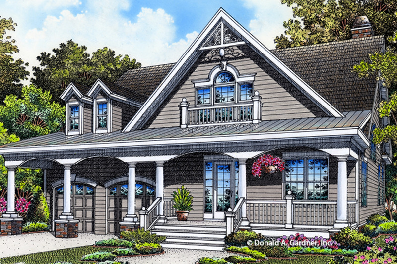 Ranch Exterior - Front Elevation Plan #929-994 - Houseplans.com