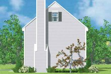Architectural House Design - Colonial Exterior - Other Elevation Plan #72-1087