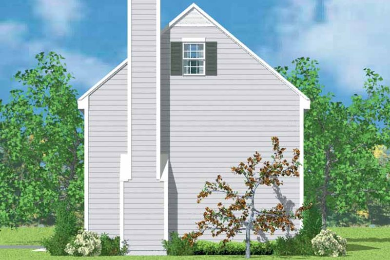 Colonial Exterior - Other Elevation Plan #72-1087 - Houseplans.com