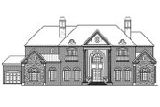 Colonial Style House Plan - 5 Beds 5.5 Baths 7318 Sq/Ft Plan #419-235 Exterior - Rear Elevation