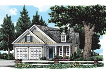 Classical Exterior - Front Elevation Plan #927-172