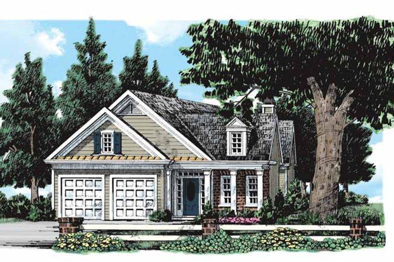 Classical Exterior - Front Elevation Plan #927-172 - Houseplans.com