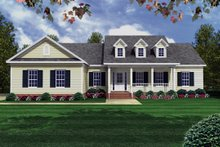 Traditional Exterior - Front Elevation Plan #21-147