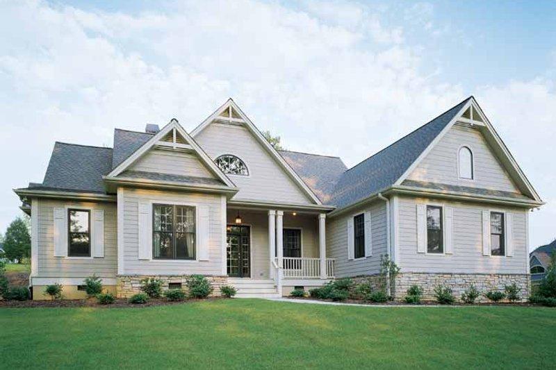 Craftsman Exterior - Front Elevation Plan #929-650