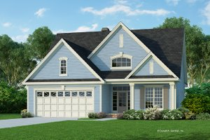 Country Exterior - Front Elevation Plan #929-757
