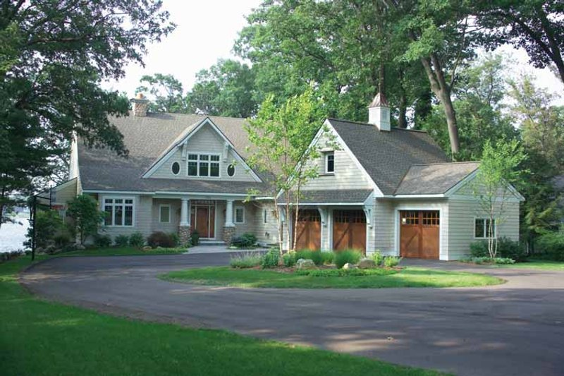 Dream House Plan - Craftsman Exterior - Front Elevation Plan #928-21