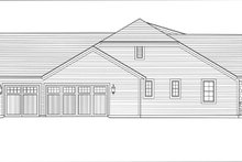 Architectural House Design - Craftsman Exterior - Other Elevation Plan #46-838
