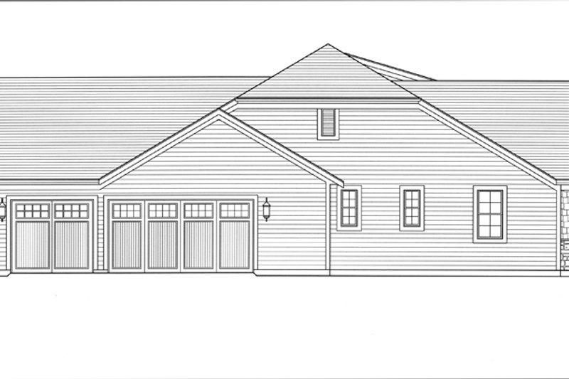 Craftsman Exterior - Other Elevation Plan #46-838 - Houseplans.com