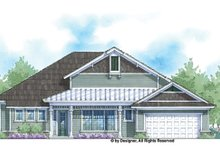 House Plan Design - Country Exterior - Front Elevation Plan #938-68