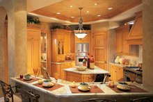 House Design - Mediterranean Interior - Kitchen Plan #930-54