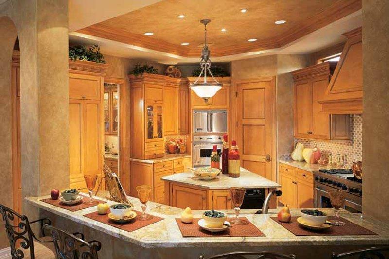 Mediterranean Interior - Kitchen Plan #930-54 - Houseplans.com