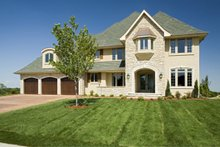 Dream House Plan - Traditional Exterior - Other Elevation Plan #56-603