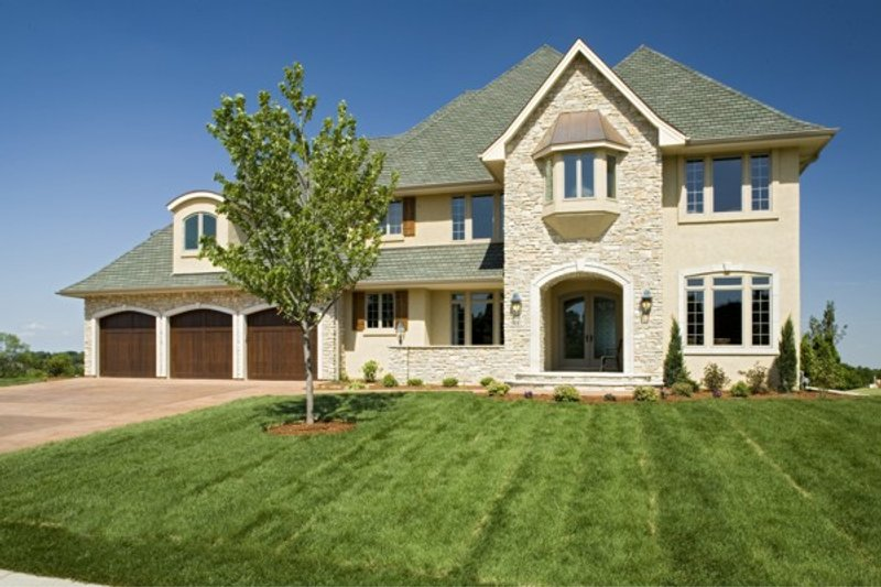 Traditional Exterior - Other Elevation Plan #56-603 - Houseplans.com