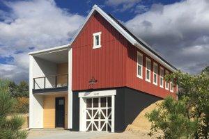 Farmhouse Exterior - Front Elevation Plan #933-10
