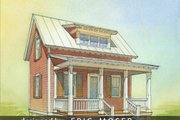 Cottage Style House Plan - 1 Beds 1 Baths 633 Sq/Ft Plan #514-8 Exterior - Front Elevation