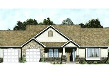 Home Plan - Traditional Exterior - Front Elevation Plan #58-211