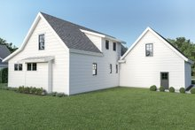 Dream House Plan - Farmhouse Exterior - Rear Elevation Plan #1070-87