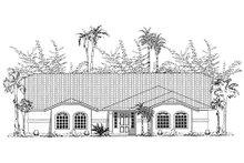 Dream House Plan - Mediterranean Exterior - Other Elevation Plan #437-10