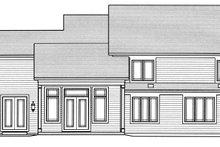 Craftsman Exterior - Rear Elevation Plan #46-859
