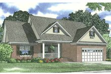 Home Plan - Traditional Exterior - Front Elevation Plan #17-2693