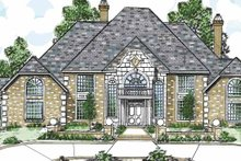 Architectural House Design - Traditional Exterior - Front Elevation Plan #52-268