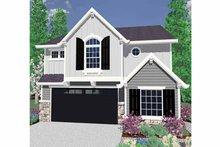 Prairie Exterior - Front Elevation Plan #509-233