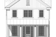 Farmhouse Style House Plan - 3 Beds 2.5 Baths 2063 Sq/Ft Plan #901-136 Exterior - Front Elevation