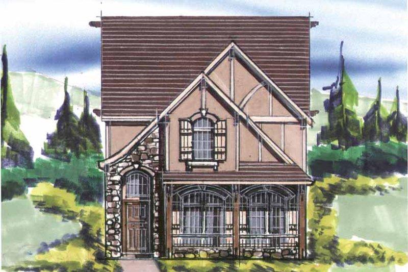 Craftsman Exterior - Front Elevation Plan #509-227 - Houseplans.com