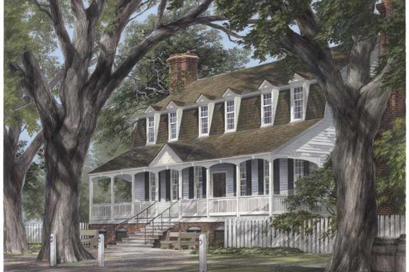 Classical Exterior - Front Elevation Plan #137-313 - Houseplans.com