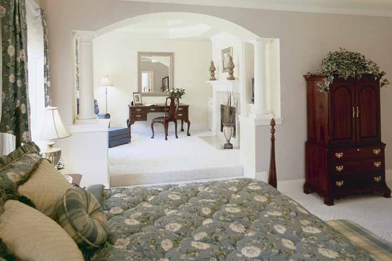 Colonial Interior - Master Bedroom Plan #927-174 - Houseplans.com