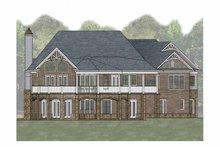 House Plan Design - Craftsman Exterior - Rear Elevation Plan #54-366