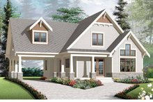 House Plan Design - Traditional Exterior - Front Elevation Plan #23-2546