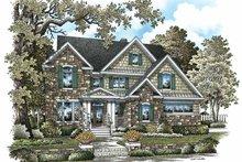 Craftsman Exterior - Front Elevation Plan #929-844