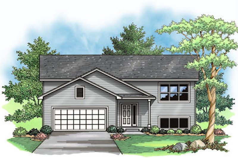 Traditional Exterior - Other Elevation Plan #51-379 - Houseplans.com