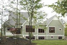 House Plan Design - Bungalow Exterior - Rear Elevation Plan #928-169