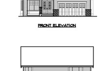 Traditional Exterior - Other Elevation Plan #1066-61