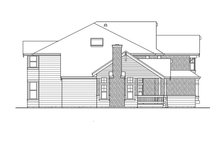 Home Plan - Craftsman Exterior - Other Elevation Plan #132-406