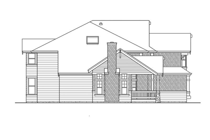 Craftsman Exterior - Other Elevation Plan #132-406 - Houseplans.com