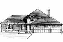 House Plan Design - European Exterior - Front Elevation Plan #51-716